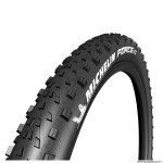 Pneu vélo VTT 27.5x2.25 marque Michelin force xc performance ts couleur noir (tubeless-tubetype)