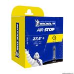 Chambre à air 27.5x 2.35-3.00 b6 valve presta 40mm (60-77x584) marque Michelin