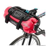 Sacoche de cintre-guidon vélo z-adventure f10 rouge fixation velcros (lg39cmxd18 - 10litres) marque Zéfal