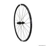 Roue vélo route 700 p1800-23 performance spline disc centerlock axe 12-142mm arrière cassette shimano-sram 11-10 vitesses couleur noir pneu 23-25mm (hauteur jante 23mm) marque DT Swiss