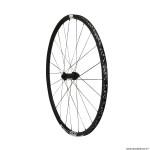Roue vélo route 700 p1800-23 performance spline disc centerlock axe 12-100mm avant couleur noir à pneu 23-25mm (hauteur jante 23mm) marque DT Swiss