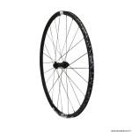 Roue vélo route 700 e1800-23 endurance spline disc centerlock axe 12-100mm avant couleur noir à pneu 25-28mm (hauteur jante 23mm) marque DT Swiss