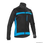 Veste cycliste adulte taille S marque Gist inside pour l'hiver couleur noir-bleu