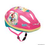 Casque vélo pour enfant taille 52-56 marque Disney v2 minnie rose avec molette réglage