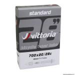 Chambre à air 700x23-28 lite valve presta 80mm marque Vittoria