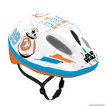 Casque vélo pour enfant taille 54-58 marque Disney v2 starwars blanc-bleu-orange avec molette réglage