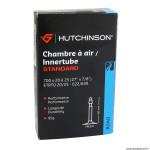 Chambre à air 700x20-25 valve presta 60mm 95g marque Hutchinson