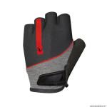 Gants vélo adulte court taille L marque Chiba streamliner couleur noir deco rouge