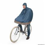 Poncho vélo pour adulte taille S-M marque Tucano garibaldina plus avec capuche et housse transport couleur bleu