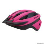Casque vélo route-vtt taille 54-58 marque Polisport sport ride couleur rose avec visière et system easy dial