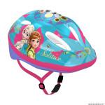 Casque vélo pour enfant taille 52-56 marque Disney v2 frozen pastel avec molette réglage