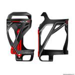 Porte bidon vélo marque Race One kela latéral couleur noir-déco rouge