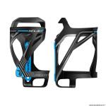 Porte bidon vélo marque Race One kela latéral couleur noir-déco bleu