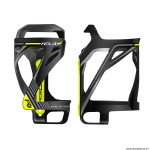 Porte bidon vélo marque Race One kela latéral couleur noir-déco jaune fluo
