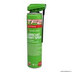 Lubrifiant pour vélo 400ml marque Weldtite tf2 ultimate au téflon (avec nouvelle tête spray)