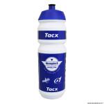 Bidon 750ml tacx deceunink quick step couleur blanc-bleu