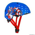 Casque vélo pour enfant taille 54-58 marque Disney v3 captain america avec molette réglage