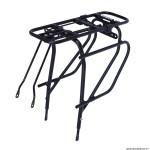Porte bagage vélo arrière à tringles (365mm) alu noir 28-26 pouces (700C) pour produit mik gamme marque Basil