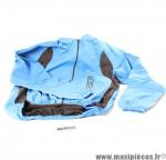 Veste de vélo coupe-vent taille S Gist bleu et noir *Prix discount !