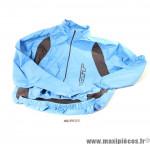 Veste de vélo coupe-vent taille M Gist bleu et noir *Prix discount !