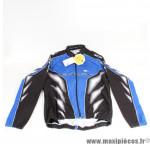 Veste de vélo taille M Gist Zero Wind bleu et noir *Prix discount !