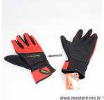 Gants longs de vélo VTT taille XLL Gist rouge & noir *Déstockage !