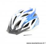 Casque vélo route/VTT GES Flow bleu L/58-62cm *Déstockage !