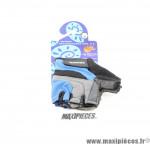 Mitaines / Gants été vélo VTT BMX noir/bleu/gris taille M SOFFATTI *Déstockage !