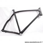Déstockage ! Cadre de vélo 100% carbone taille L/55  Orka Team 700 course/route/cyclosportif carbone noir-gris