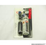 Déstockage ! Kit anti-crevaison et gonflage Roto avec cartouche Co2 VP/VS couleur bleu