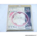 Plateau interm./int. 42 dts SPECIALITE TA ø135mm rouge Comp. Campagnolo *Déstockage !