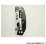 Déstockage ! Mini pompe pour vélo de route Zéfal Air Profil blanche alu VP/VS 8 bars