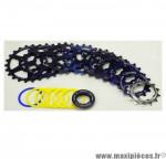 Prix discount ! Cassette vintage pour vélo 9 vitesses bleue Specialites TA Khéops 13-23 dents compatible Campagnolo