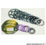 Prix discount ! Cassette vintage pour vélo 8 vitesses Specialites TA Khéops 13-21 dents compatible Campagnolo