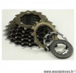 Déstockage ! Cassette pour vélo 7 vitesses Shimano Hyperglide 13-23 dents