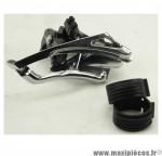 Déstockage ! Dérailleur VTT avant Microshift FD-M43 3x9 vitesses avec collier bas compatible shimano