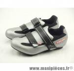 Déstockage ! Chaussure route Time gris/noir Taille 39 (paire)