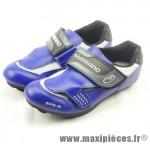 Déstockage ! Chaussure route/course Shimano SH-R072 bleu Taille 40 (paire)