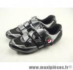Déstockage ! Chaussure route Vittoria Premium Carbone Noir/Argent taille 44 (paire)