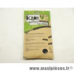 Déstockage ! Kit gaine de frein Kble Transfil route compatible Shimano (gaine noire/câble inox)