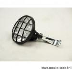 Prix discount ! Lampe vélo An Lun halogène avec réflecteur + support de lampe + ampoule 36V 5W fourni