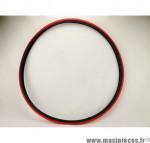Prix discount ! Pneu de vélo fixie noir et rouge 700x23C (ETRTO 23-622) S-601