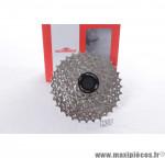 Déstockage ! Cassette pour vélo 9 vitesses Sunrace CSM96 11-32 dents (compatible Shimano/Sram)