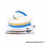 Prix discount ! Ruban de guidon ZK1 MAXI CORK moitié bleu et blanc sans liège