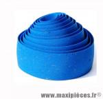 Prix spécial ! Ruban de guidon BikeRibbon CORK GEL bleu avec liège