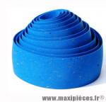 Déstockage ! Ruban de guidon VELOX MAXI CORK bleu avec liège