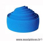 Déstockage ! Ruban de guidon BikeRibbon SPUGNA bleu textile strié