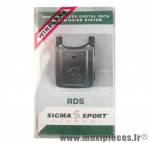 Kit de transmission RDS sans fil marque Sigma - Accessoire vélo *Déstockage !