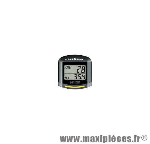 Prix discount ! Compteur Sigma pour roller Topline BC 400 multifonctions avec inline speed chip