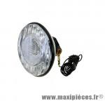 Prix discount ! Lampe de vélo An Lun noir halogène pour éclairage avant